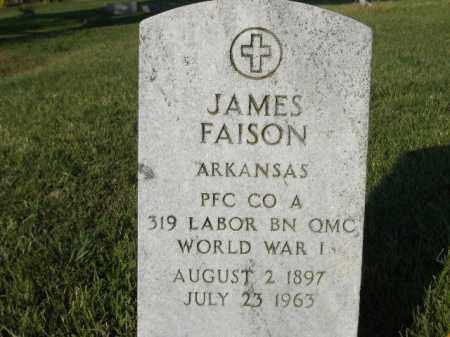 FAISON  (VETERAN WWI), JAMES - Poinsett County, Arkansas | JAMES FAISON  (VETERAN WWI) - Arkansas Gravestone Photos