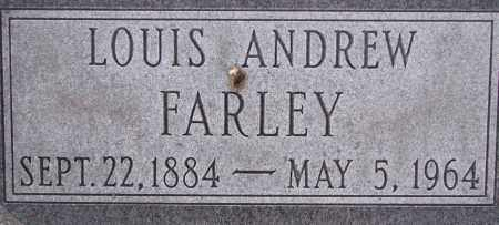 FARLEY, LOUIS ANDREW - Poinsett County, Arkansas | LOUIS ANDREW FARLEY - Arkansas Gravestone Photos