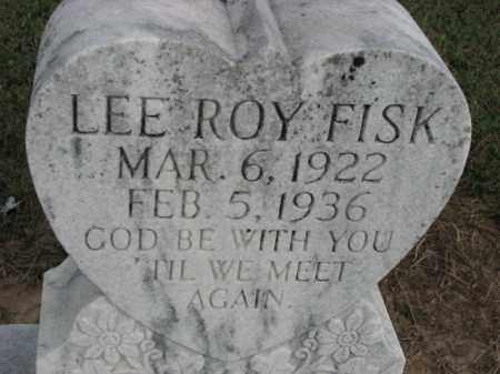 FISK, LEE ROY - Poinsett County, Arkansas | LEE ROY FISK - Arkansas Gravestone Photos