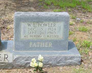 FOWLER, W. L. - Poinsett County, Arkansas   W. L. FOWLER - Arkansas Gravestone Photos