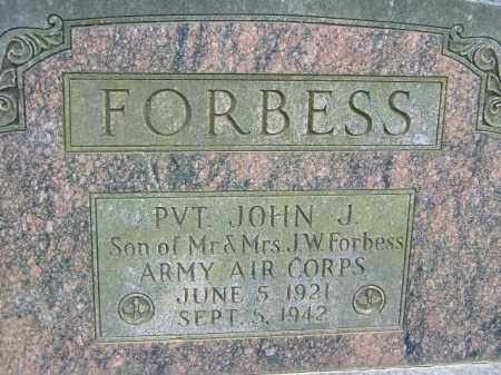 FORBESS  (VETERAN WWII), JOHN J - Poinsett County, Arkansas   JOHN J FORBESS  (VETERAN WWII) - Arkansas Gravestone Photos