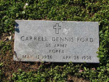 FORD (VETERAN KOR), CARRELL DENNIS - Poinsett County, Arkansas | CARRELL DENNIS FORD (VETERAN KOR) - Arkansas Gravestone Photos