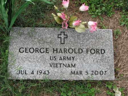FORD (VETERAN VIET), GEORGE HAROLD - Poinsett County, Arkansas | GEORGE HAROLD FORD (VETERAN VIET) - Arkansas Gravestone Photos