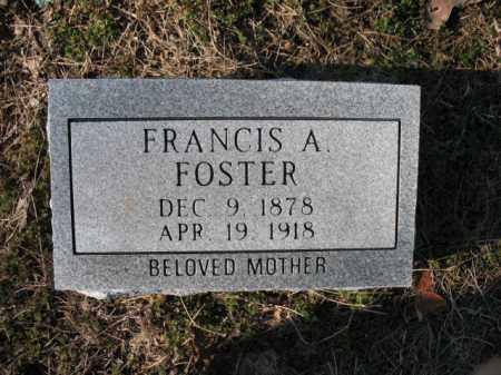 FOSTER, FRANCIS A - Poinsett County, Arkansas | FRANCIS A FOSTER - Arkansas Gravestone Photos