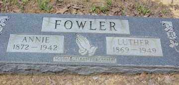 FOWLER, LUTHER - Poinsett County, Arkansas | LUTHER FOWLER - Arkansas Gravestone Photos
