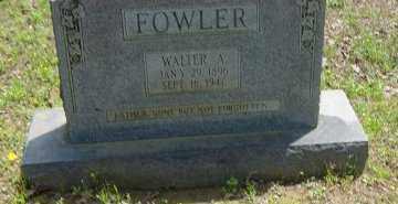 FOWLER, WALTER A. - Poinsett County, Arkansas   WALTER A. FOWLER - Arkansas Gravestone Photos