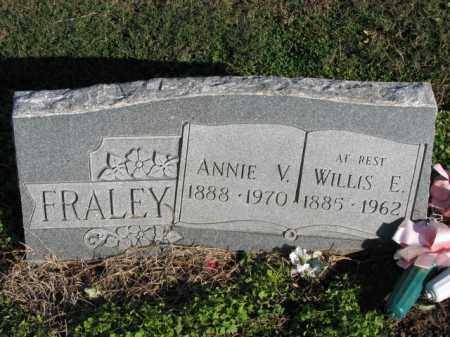 FRALEY, ANNIE V. - Poinsett County, Arkansas | ANNIE V. FRALEY - Arkansas Gravestone Photos