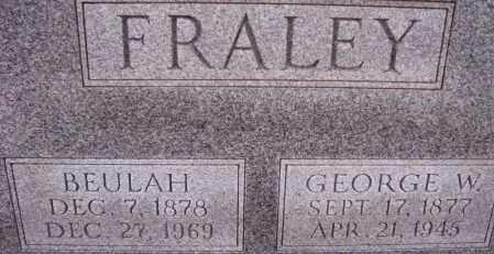 FRALEY, BEULAH - Poinsett County, Arkansas   BEULAH FRALEY - Arkansas Gravestone Photos
