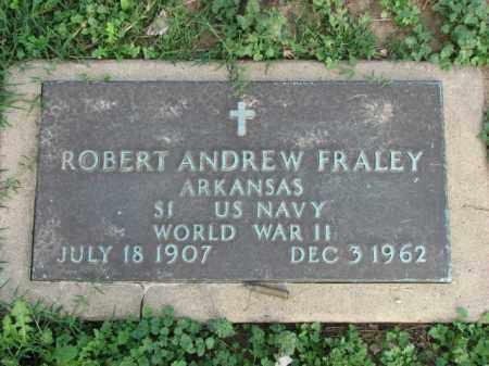 FRALEY (VETERAN WWII), ROBERT ANDREW - Poinsett County, Arkansas | ROBERT ANDREW FRALEY (VETERAN WWII) - Arkansas Gravestone Photos