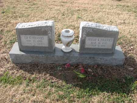 FRANKS, ED C. - Poinsett County, Arkansas | ED C. FRANKS - Arkansas Gravestone Photos
