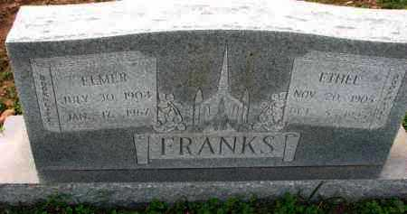 FRANKS, ETHEL - Poinsett County, Arkansas | ETHEL FRANKS - Arkansas Gravestone Photos