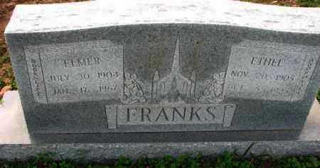 FRANKS, ETHEL - Poinsett County, Arkansas | ETHEL FRANKS - Arkansas Gravestone Photos