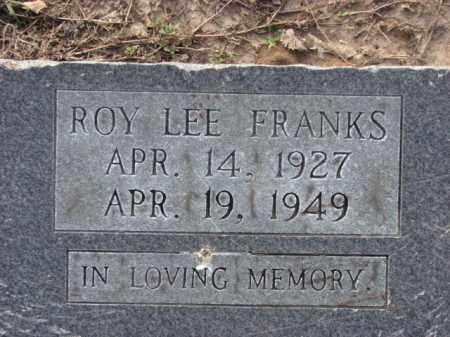 FRANKS, ROY LEE - Poinsett County, Arkansas | ROY LEE FRANKS - Arkansas Gravestone Photos