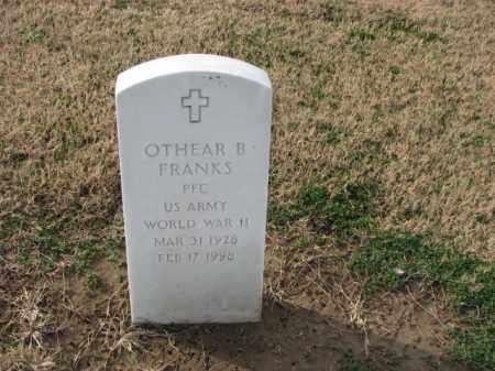 FRANKS (VETERAN WWII), OTHEAR B - Poinsett County, Arkansas | OTHEAR B FRANKS (VETERAN WWII) - Arkansas Gravestone Photos