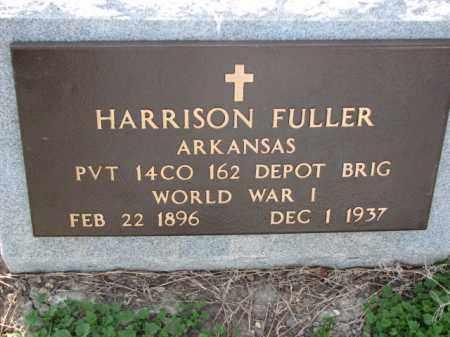 FULLER (VETERAN WWI), HARRISON - Poinsett County, Arkansas | HARRISON FULLER (VETERAN WWI) - Arkansas Gravestone Photos