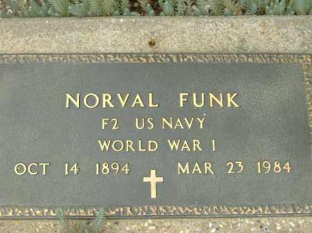 FUNK  (VETERAN WWI), NORVAL - Poinsett County, Arkansas | NORVAL FUNK  (VETERAN WWI) - Arkansas Gravestone Photos