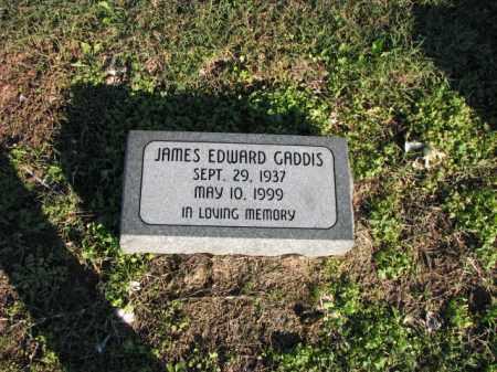 GADDIS, JAMES EDWARD - Poinsett County, Arkansas | JAMES EDWARD GADDIS - Arkansas Gravestone Photos