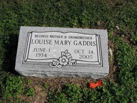 GADDIS, LOUISE MARY - Poinsett County, Arkansas   LOUISE MARY GADDIS - Arkansas Gravestone Photos