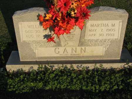 GANN, WILLIE H. - Poinsett County, Arkansas | WILLIE H. GANN - Arkansas Gravestone Photos