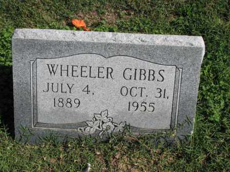 GIBBS, WHEELER - Poinsett County, Arkansas | WHEELER GIBBS - Arkansas Gravestone Photos