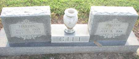 GILL, HARDIN - Poinsett County, Arkansas | HARDIN GILL - Arkansas Gravestone Photos