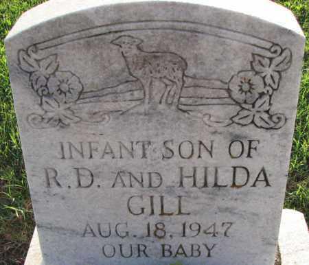 GILL, INFANT SON - Poinsett County, Arkansas | INFANT SON GILL - Arkansas Gravestone Photos