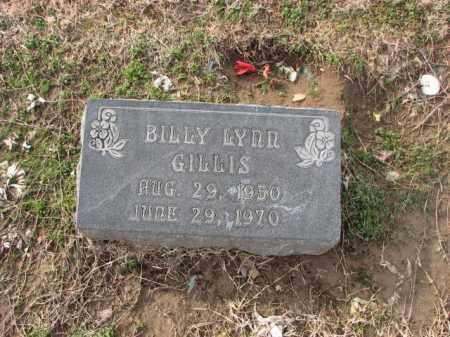 GILLIS, BILLY LYNN - Poinsett County, Arkansas | BILLY LYNN GILLIS - Arkansas Gravestone Photos