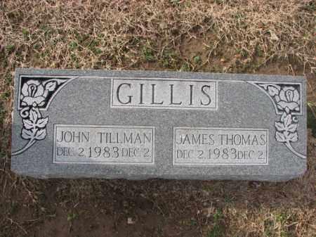 GILLIS, JAMES THOMAS - Poinsett County, Arkansas | JAMES THOMAS GILLIS - Arkansas Gravestone Photos