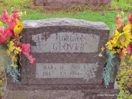 JUDKINS GLOVER, FLORENCE IRENE - Poinsett County, Arkansas | FLORENCE IRENE JUDKINS GLOVER - Arkansas Gravestone Photos