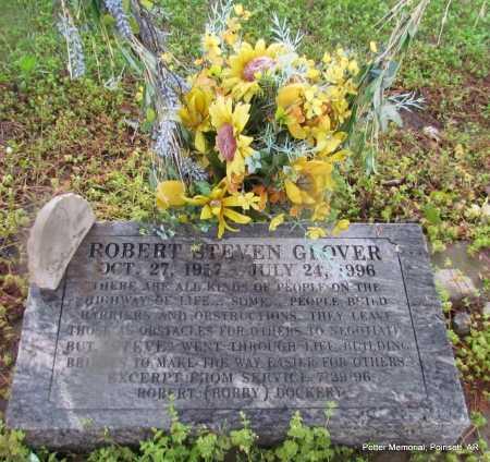 GLOVER, ROBERT STEVEN - Poinsett County, Arkansas | ROBERT STEVEN GLOVER - Arkansas Gravestone Photos