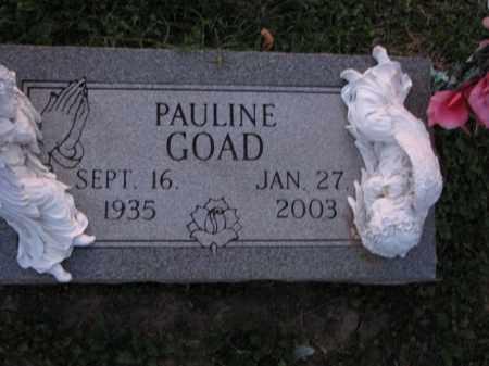 GOAD, PAULINE - Poinsett County, Arkansas | PAULINE GOAD - Arkansas Gravestone Photos