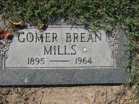 MILLS, GOMER BREAN - Poinsett County, Arkansas   GOMER BREAN MILLS - Arkansas Gravestone Photos