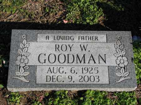 GOODMAN, ROY W. - Poinsett County, Arkansas | ROY W. GOODMAN - Arkansas Gravestone Photos