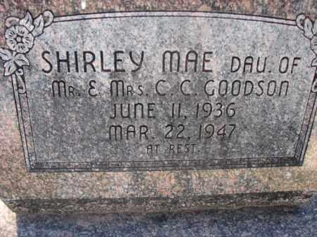 GOODSON, SHIRLEY MAE - Poinsett County, Arkansas | SHIRLEY MAE GOODSON - Arkansas Gravestone Photos