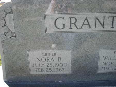 GRANT, NORA B. - Poinsett County, Arkansas | NORA B. GRANT - Arkansas Gravestone Photos