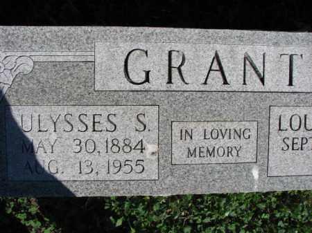 GRANT ULYSSES S