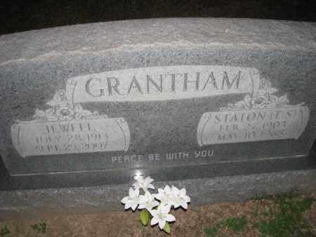 GRANTHAM, JEWELL - Poinsett County, Arkansas | JEWELL GRANTHAM - Arkansas Gravestone Photos