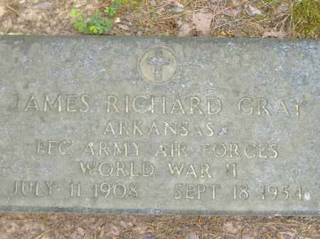 GRAY  (VETERAN WWII), JAMES RICHARD - Poinsett County, Arkansas | JAMES RICHARD GRAY  (VETERAN WWII) - Arkansas Gravestone Photos