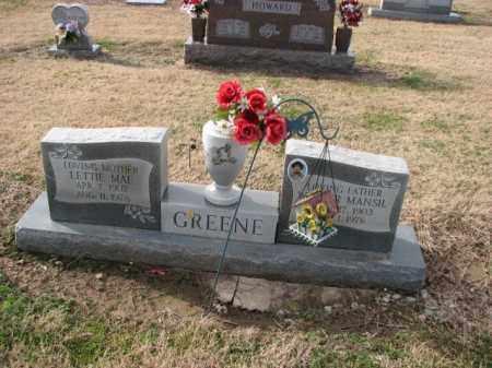 GREEN, LETTIE MAE - Poinsett County, Arkansas | LETTIE MAE GREEN - Arkansas Gravestone Photos