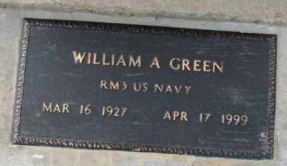 GREEN (VETERAN), WILLIAM A. - Poinsett County, Arkansas | WILLIAM A. GREEN (VETERAN) - Arkansas Gravestone Photos