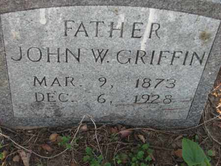 GRIFFIN, JOHN W. - Poinsett County, Arkansas | JOHN W. GRIFFIN - Arkansas Gravestone Photos