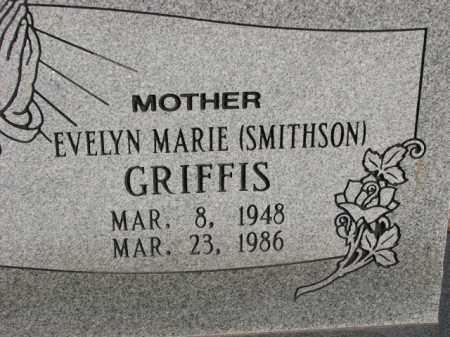 SMITHSON GRIFFIS, EVELYN MARIE - Poinsett County, Arkansas   EVELYN MARIE SMITHSON GRIFFIS - Arkansas Gravestone Photos