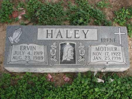 HALEY, ERVIN - Poinsett County, Arkansas | ERVIN HALEY - Arkansas Gravestone Photos