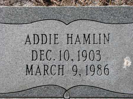 HAMLIN, ADDIE - Poinsett County, Arkansas | ADDIE HAMLIN - Arkansas Gravestone Photos