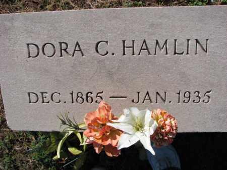 HAMLIN, DORA C. - Poinsett County, Arkansas   DORA C. HAMLIN - Arkansas Gravestone Photos