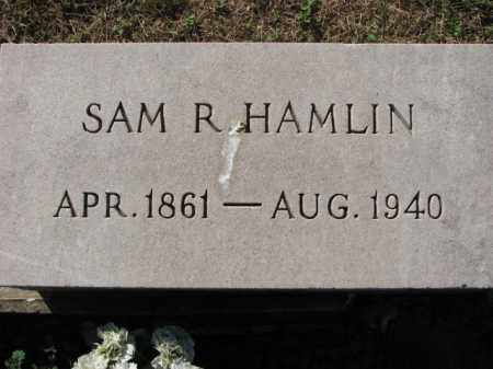 HAMLIN, SAM R. - Poinsett County, Arkansas | SAM R. HAMLIN - Arkansas Gravestone Photos