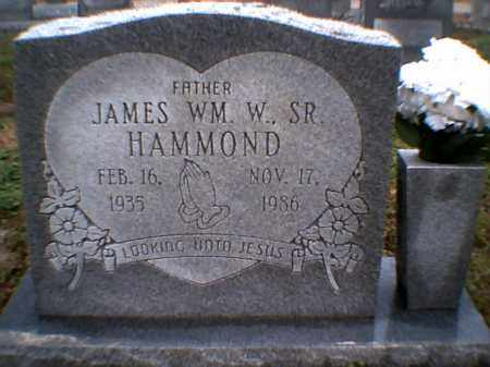 HAMMOND SR., JAMES WILLIAM W. - Poinsett County, Arkansas | JAMES WILLIAM W. HAMMOND SR. - Arkansas Gravestone Photos