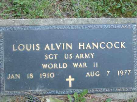 HANCOCK  (VETERAN WWII), LOUIS ALVIN - Poinsett County, Arkansas   LOUIS ALVIN HANCOCK  (VETERAN WWII) - Arkansas Gravestone Photos