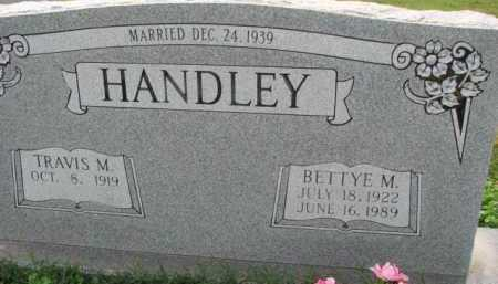 HANDLEY, BETTYE M. - Poinsett County, Arkansas | BETTYE M. HANDLEY - Arkansas Gravestone Photos