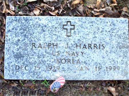 HARRIS  (VETERAN KOR), RALPH J. - Poinsett County, Arkansas | RALPH J. HARRIS  (VETERAN KOR) - Arkansas Gravestone Photos
